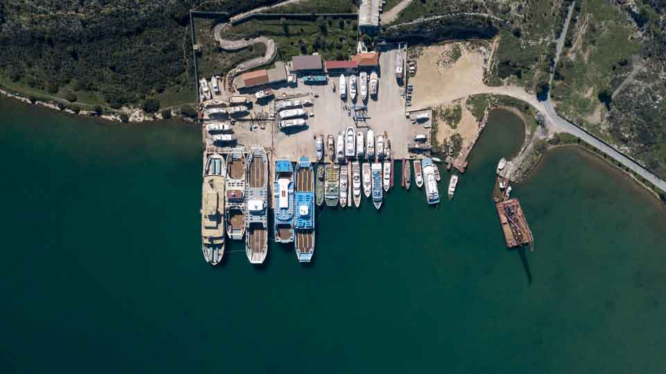 Bekris shipyards - modern facilities